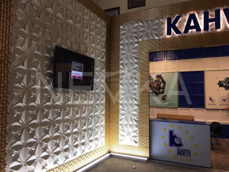 2017 İstanbul Automechanika Kahveci Otomotiv Fuarı _ 3D Panel