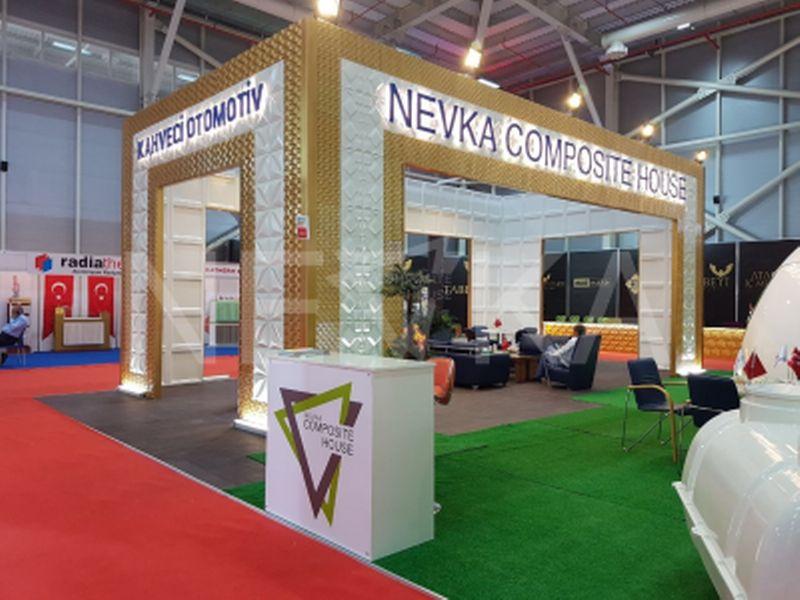 2017 Konya Yapı Fuarı Nevka Standı _ 3D Panel