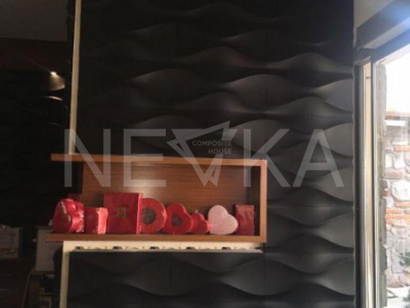 Konya İstanbul Pastanesi 3D Panel